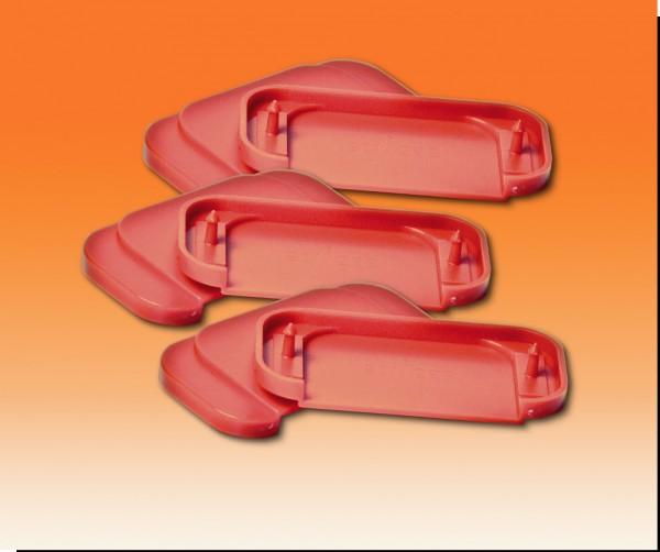 Ersatz-Oberplatten rot