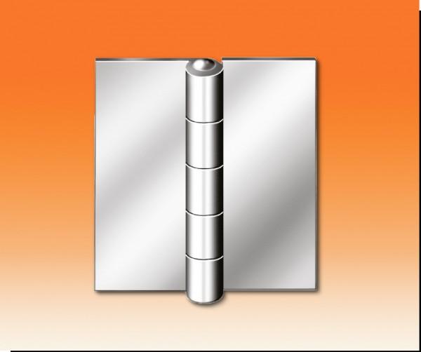 Stahlfenster-Scharnier