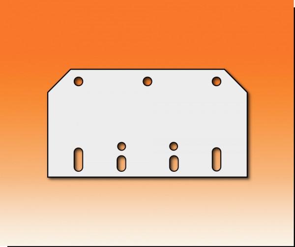 Montageplatte Haken