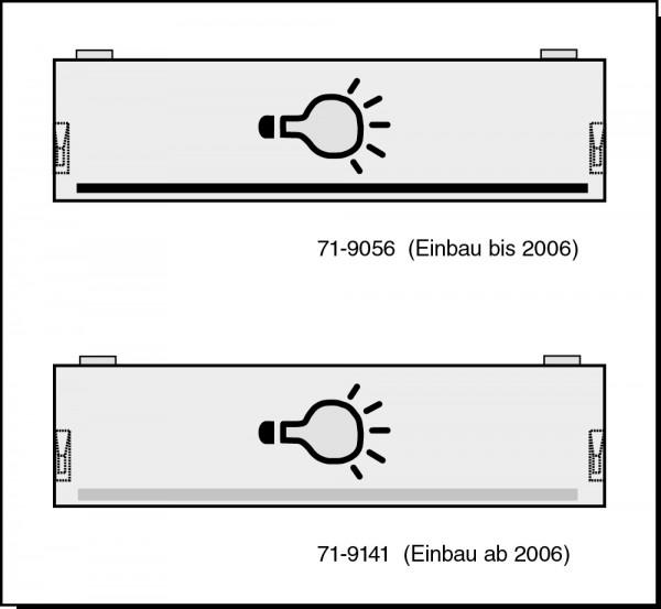 Lichttastenabdeckung